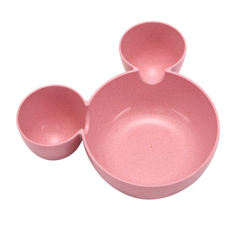 Wheat straw cartoon little mouse child rice bowl (7)