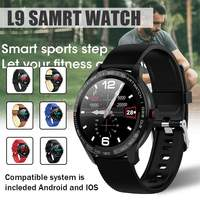 KINCO L9 Smart Watch ECG Heart Rate Calls Reminder Full Touch Smartwatch IP68 Waterproof Watch Men For Android IOS 19 languages