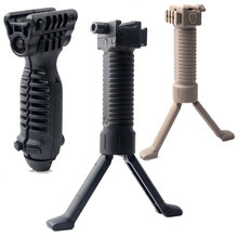 Rail-Adapter Head-Mount Airsoft-Bracket Grip Bipod Hunting-Accessories Nylon Tactical