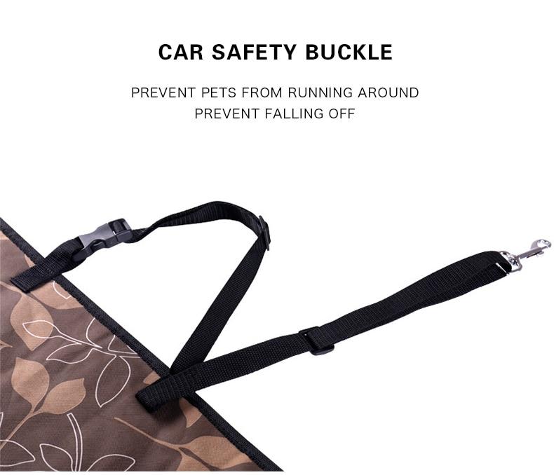 Portadores de animais de estimação com tapetes de proteção de assento de carro