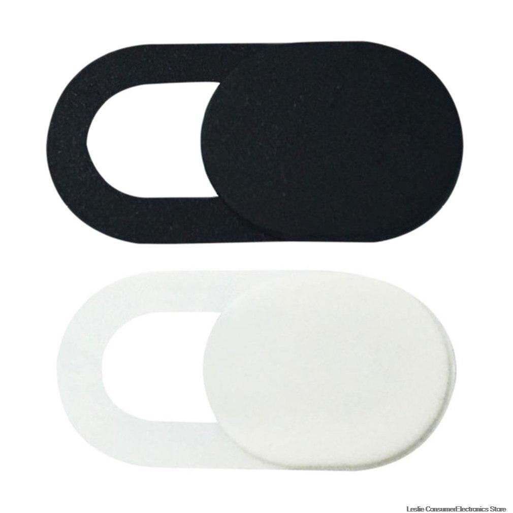 Universal Plastic Black WebCam Cover Shutter Magnet Slider Camera Cover for IPhone Laptop Mobile Phone Len Privacy Stickers