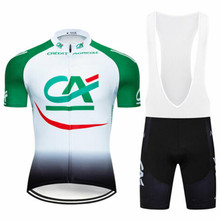 Bib Shorts Cycling-Set Race-Suit Bike Custom Ropa-Ciclismo Quick-Dry Summer Credit-Agricole