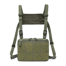 Tactical Vest Chest-Rig-Bag Pouch Bag-Gear Fanny-Pack Molle-Tool Multi-Functional Adjustable