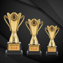 Award Trophies Champion-Cup Customized Trofeu Souvenir Sports Team Ceremony Gold-Plated
