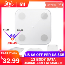 Xiaomi Body-Fat-Scale Balance-Test Composition Bluetooth Smart Original 2 13 Data-Bmi