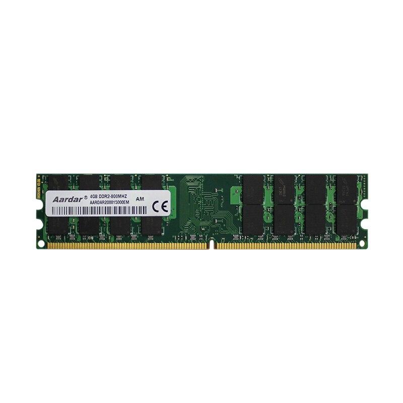 Aardar горячая Распродажа настольная память DDR2 2 Гб ОЗУ 4 ГБ 800 МГц 667 МГц 4G 2G совместимая с компьютером ddr 2 высокого качества