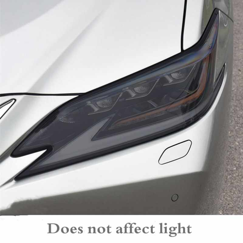 TPU protective film for blackened headlight Sticker for LEXUS NX RX GS IS CT ES gx LS LX UX black transparent