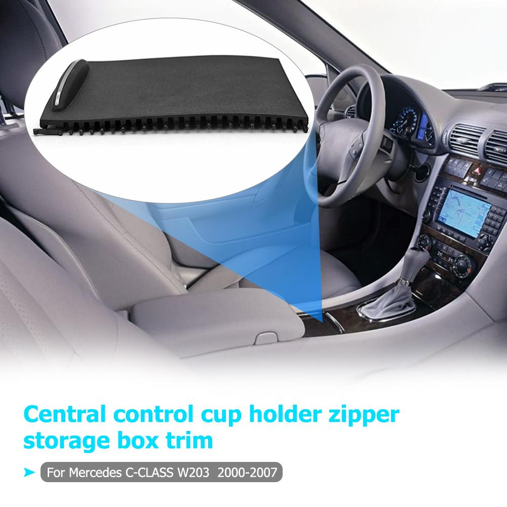 ABS Console Roller Blind Cover Tray Fit for Mercedes Benz C-Class W203 2000-2007