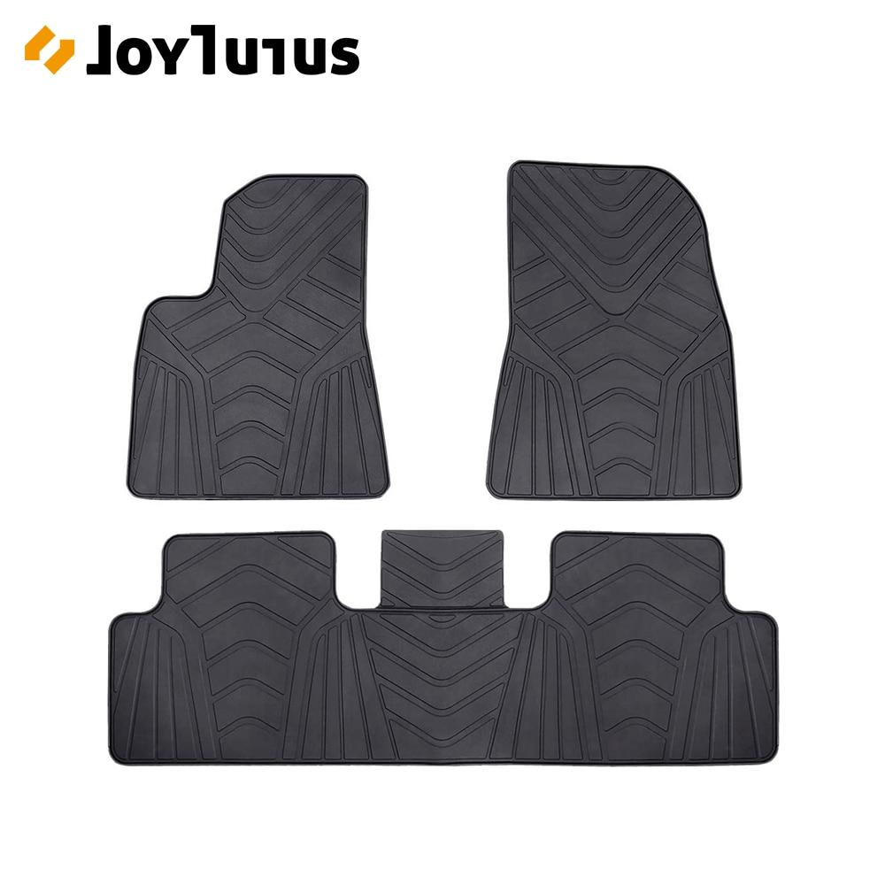 Caoutchouc robuste Tapis de Coffre Arri/ère Personnalis/é pour Tesla Mod/èle 3 Model 3 tapis de plancher imperm/éable Floormat de protection contre les intemp/éries