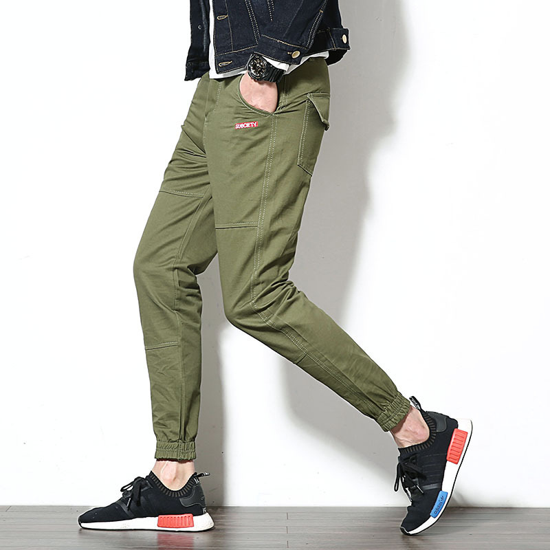 Men \ \ /'S Chinos Large Size Pants Man Cotton Trou