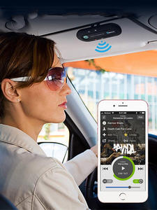 Speaker Phone Car-Kit Bluetooth-Transmitter Stereo Music-Player Dual-Usb-Charger Wireless