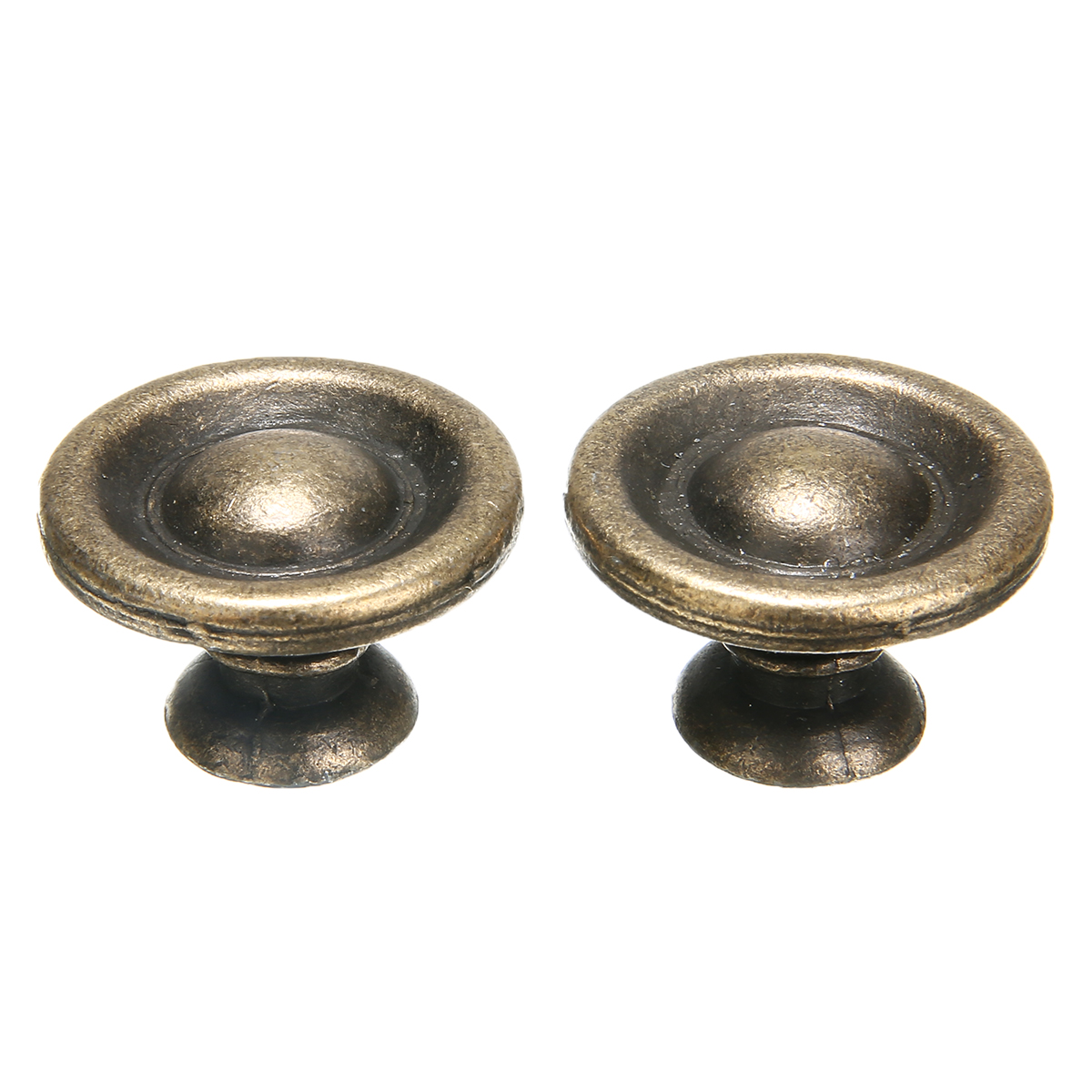 10pcs Furniture Knobs Antique Brass Handles Cupboard Wardrobe  Doors Cabinet Drawers Cabinet Hardware Knobs