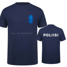 T-Shirt Men Police Special-Swat Finland Tops Cotton Casual Tees Unit-Force Harajuku Streetwear
