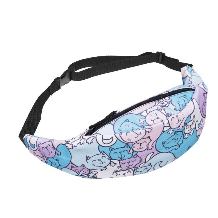 Animal Cartoon Handmade Funny Pack Clear Kids Waist Tool Belt Chest Bag Outdoor