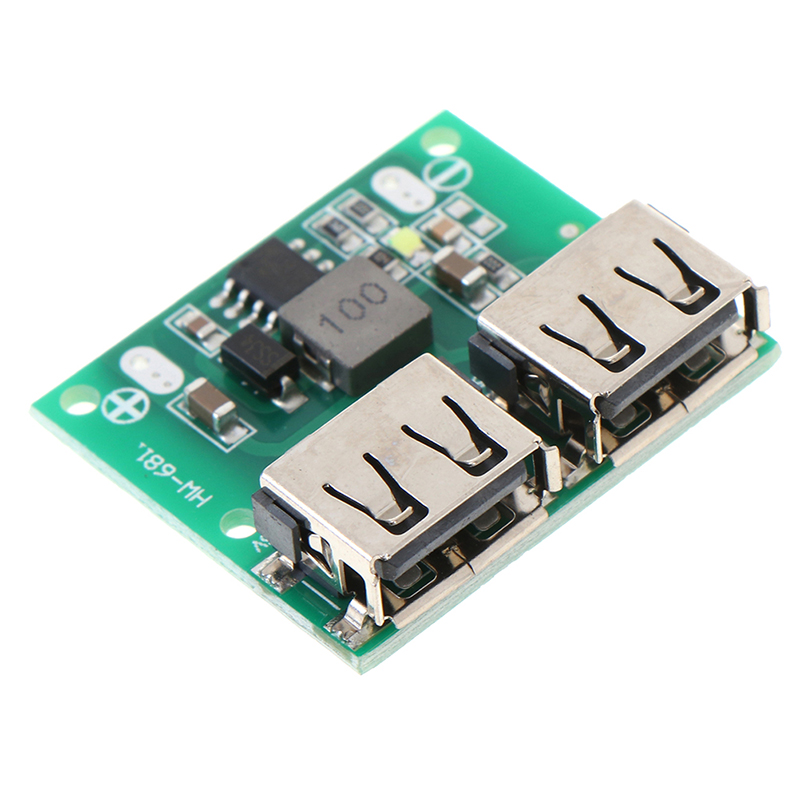 9V 12V 24V to 5V 3A Dual USB DC-DC Charger Power Supply Step Down Module New