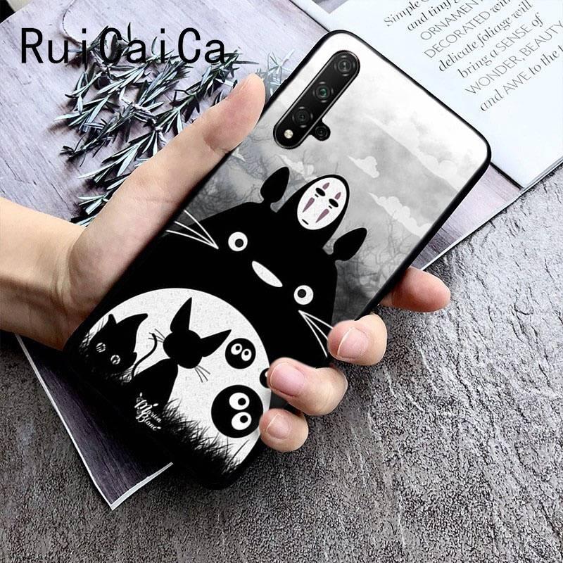 Cute Cartoon Happy Totoro