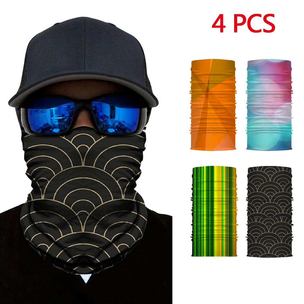 Romacci Unisex Bandana Face Shield Neck Warmer Gaiter Headwear Headband Fishing Sport Cycling Hiking Skiing Snow Snowboarding Dustproof Summer Sunblock Wind-proof Full Face Shield