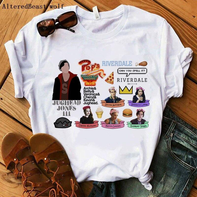 Unisex T-Shirt Cheryl Tee Betty I Heart Jughead Jones Archie Riverdale