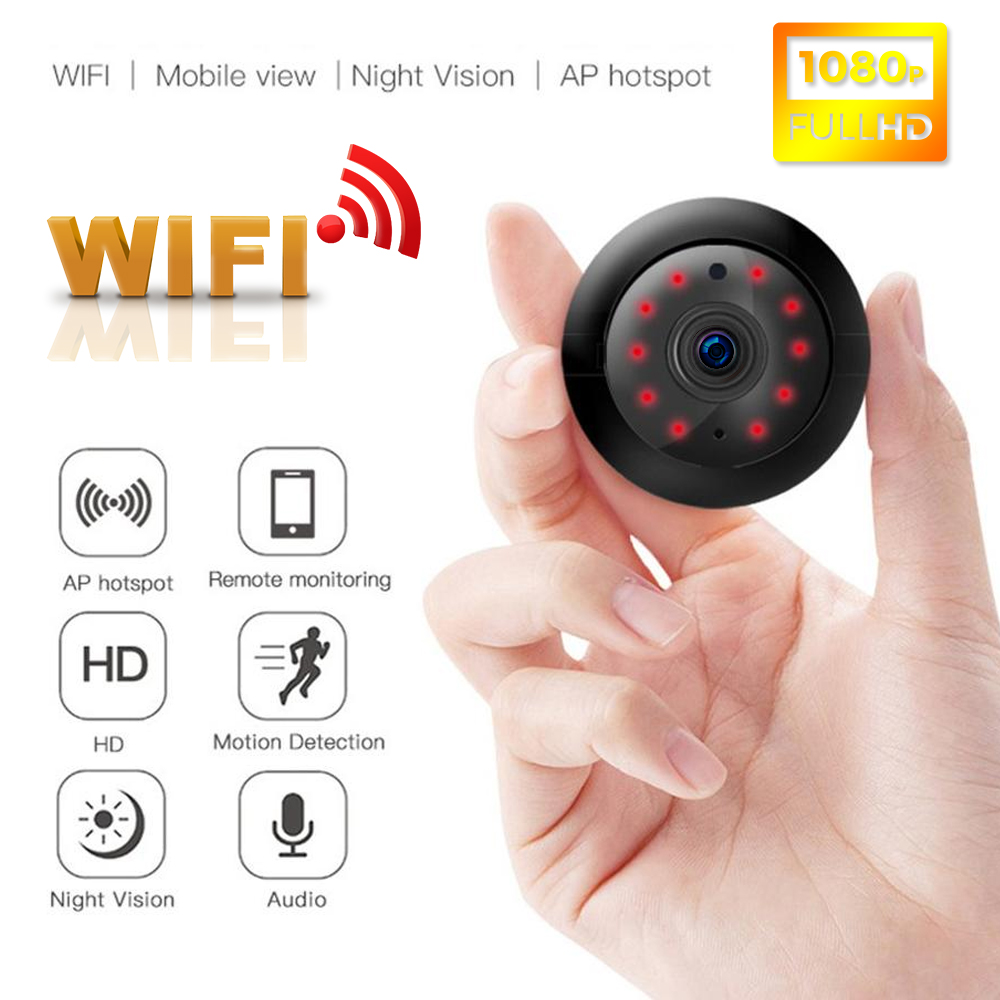 Person - Wifi IP Camera HD 1080P Wireless Indoor Camera Night Vision Two Way Detection Baby Monitor V380 Audio Home Security with Stand