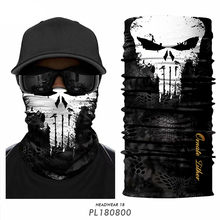 Hiking Scarves Headband Gaiter Punisher-Mask Cycling-Face-Mask Bufanda Ski-Balaclava