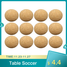 Foosball Table Cork 36mm Desktop Solid-Wood 6pcs/12pcs