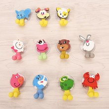 Toothbrush-Holder Bathroom-Accessories-Set Wall-Suction-Holder-Tool Suction-Cup Animal