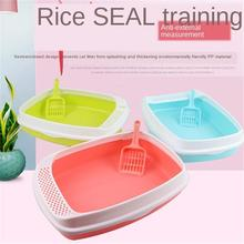 Pet-Supplies Cat-Litter-Box Cat Toilet Pets Cleaning-Dog Shatter-Resistant Home Plastic