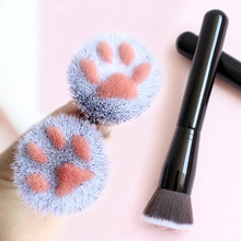Concealer Mask-Brush-Tools Blush Hair-Cleaning-Brush Multi-Function Cute Cat 1PC Claw-Shape