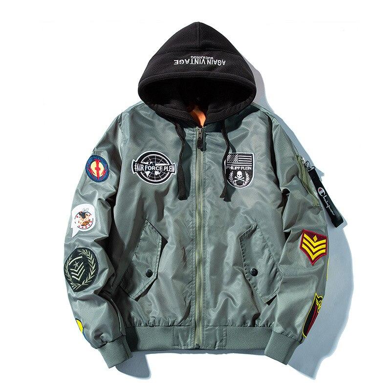 Da Donna Mimetico Bomber Giacca Militare Bomber Giacca Army piloti Motociclista Transizione
