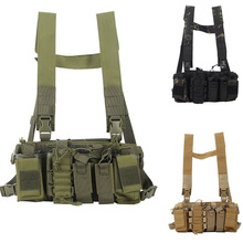Molle Vest Radio-Harness Airsoft Military Tactical Holster Waist-Pouch Hunting-Radio