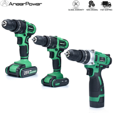 Electric-Drill Drilling Torque Cordless 16V 21V for Tighten-Screws 3-Modes 25--1 25--1