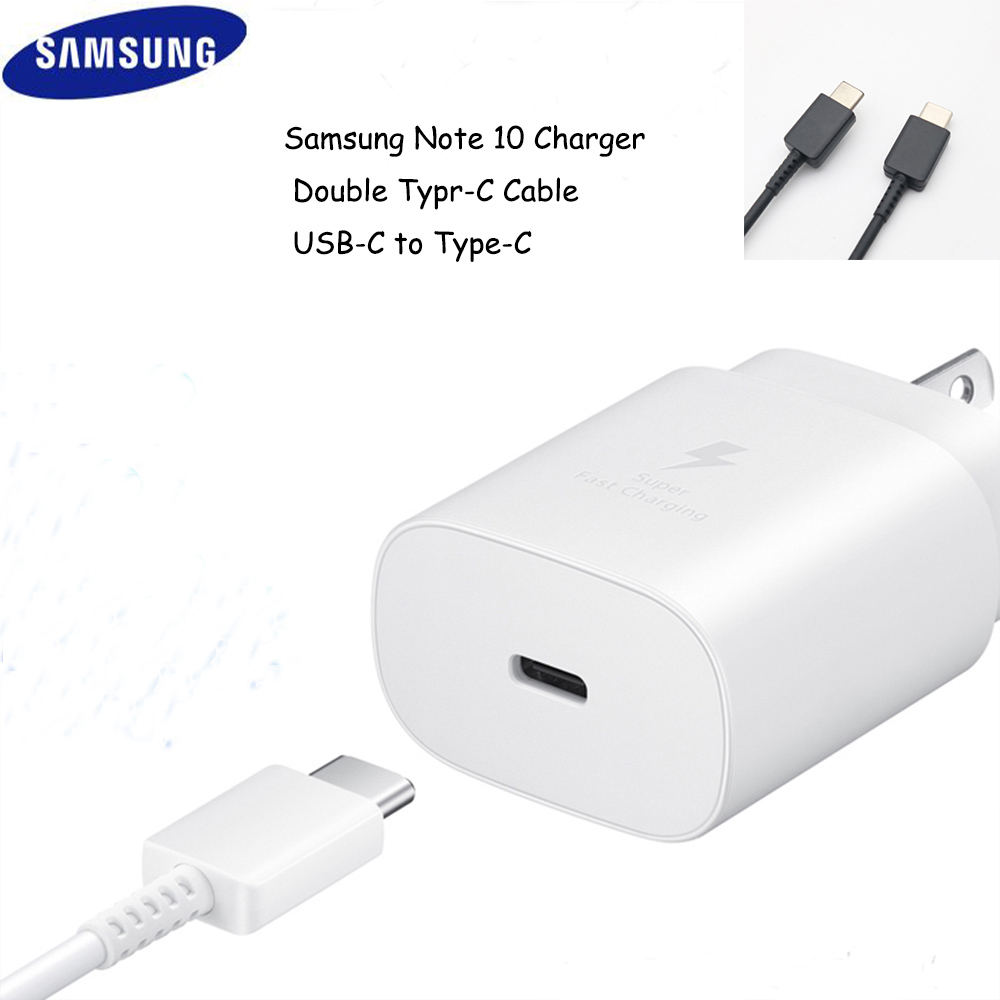 Super-Fast-Charger Note10 Samsung Galaxy 25W USB-C for Note-10/Note10-plus/Note10/Usb-c title=