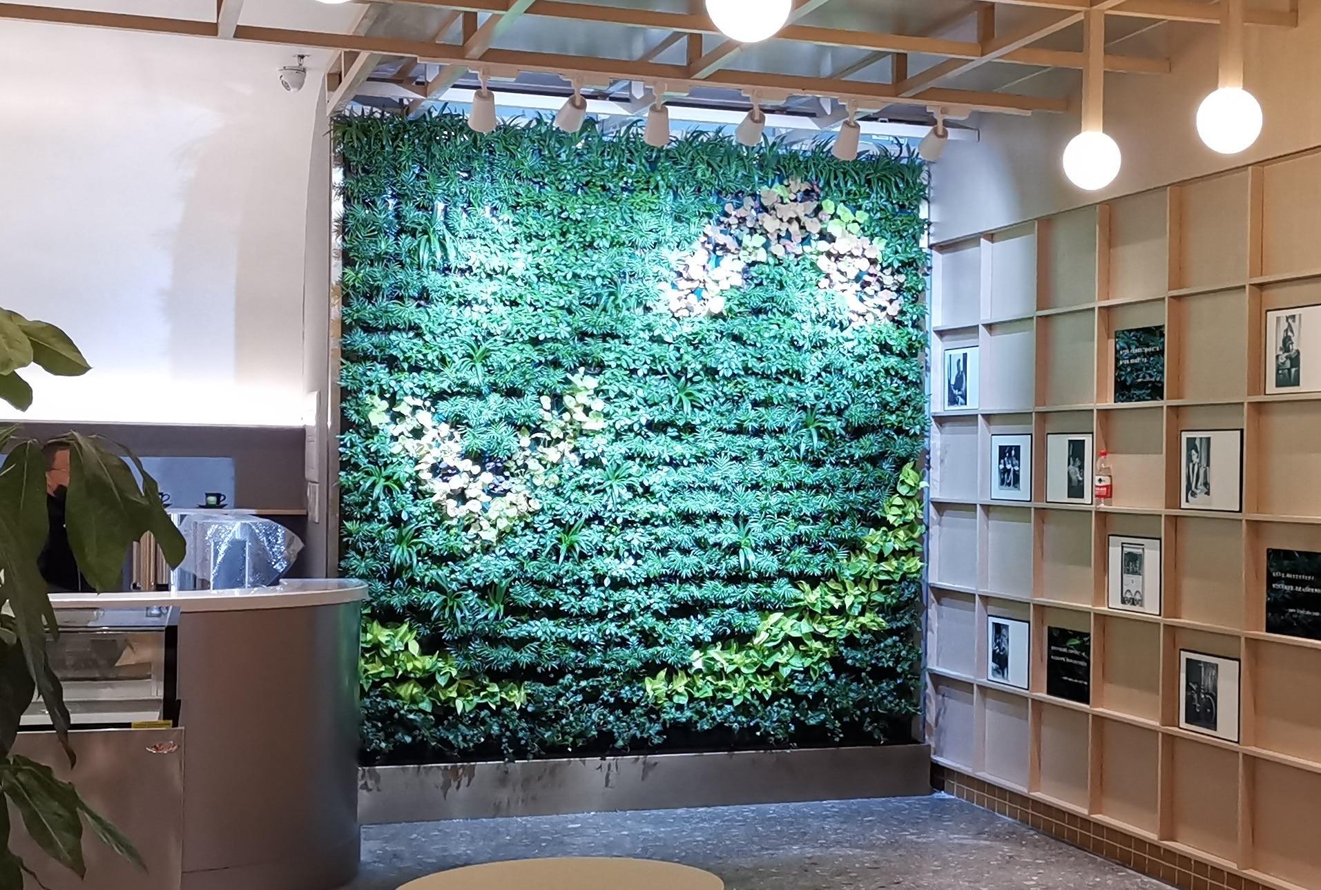 宁波colife生活广场植物墙 万科●东晟府绿植墙