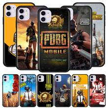 Phone-Case Pubg Back-Cover Black 6S for Apple 12 Mini 7/11-pro/Max/.. Soft Capa Game