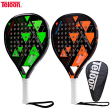 Tennis-Racket Paddle Padel Teloon Carbon-Fiber Overgrip EVA Face Men Women