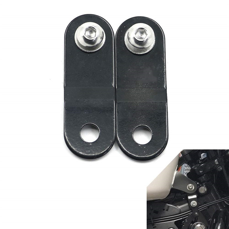 """Raise front of gas tank lift kit 1.70/"""" w//bolt for Harley XL Sportster 1995-2010"""