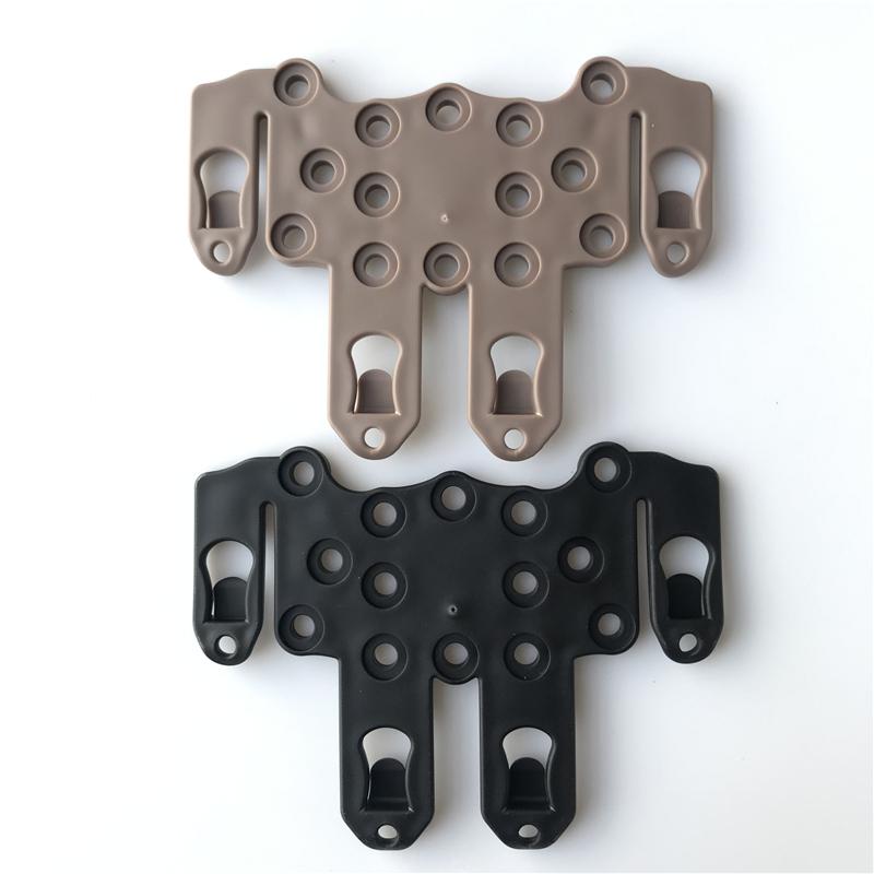 Tactical Molle Speed Clip Platform Ambidextrous Holsters Rail Case Platform Moun
