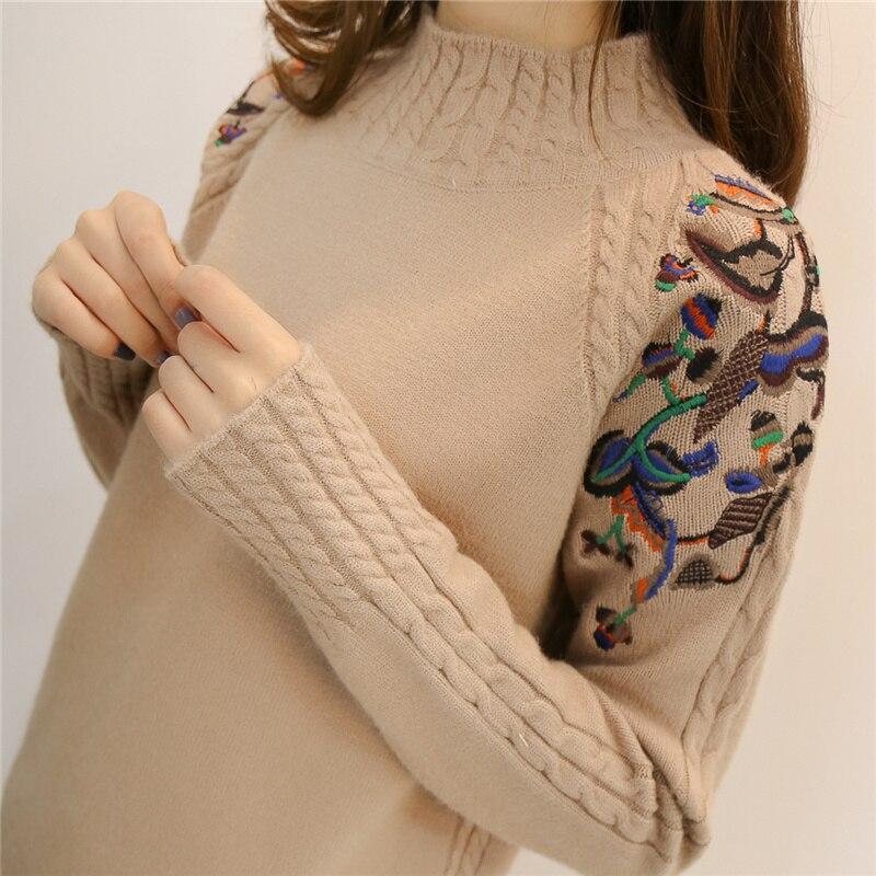 Jumper Women Sweaters And Pullovers 2019 Female Tu...