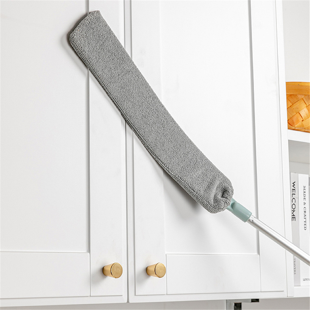 Broom-Tool Sweeper Dust Cleaning-Brush And Removable Telescopic Dust-Collector Microfiber title=