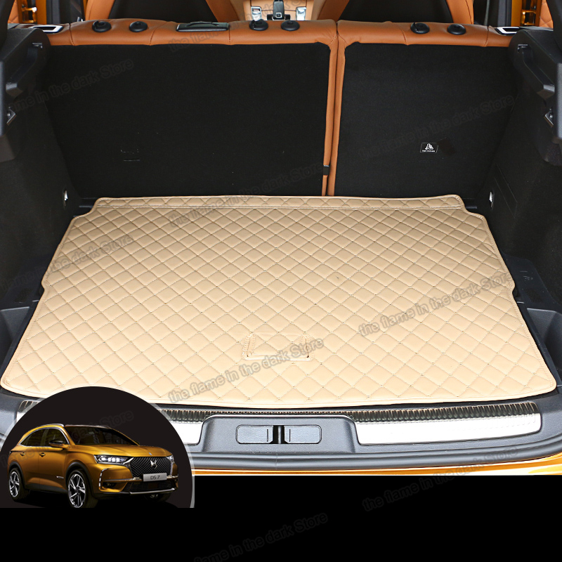 Water Resistant Car Boot Trunk Liner S- tech automotive Citroen DS5 12-ON Heavy Duty Durable Lip Protector