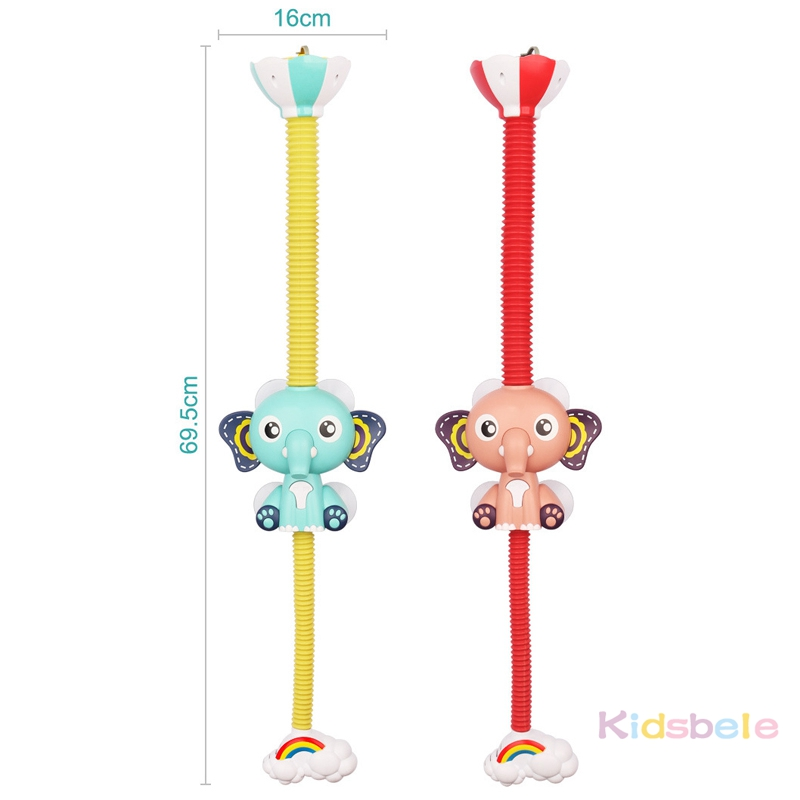 Bath Toys Baby Water Game Elephant Model Faucet Shower Electric Water Spray Toy For Kids Swimming Bathroom Baby Toys-12