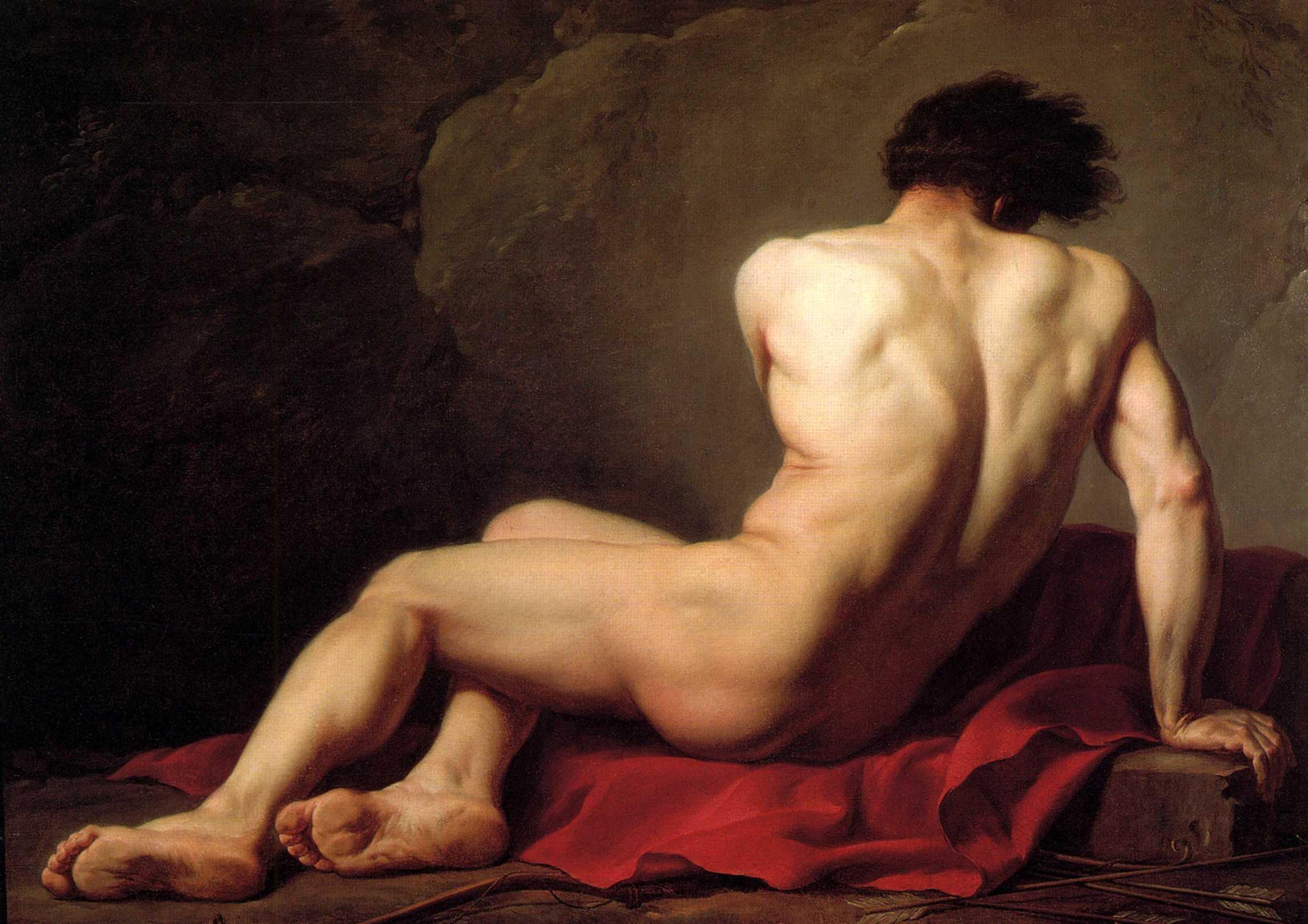 Портрет Обнаженного Мужчины