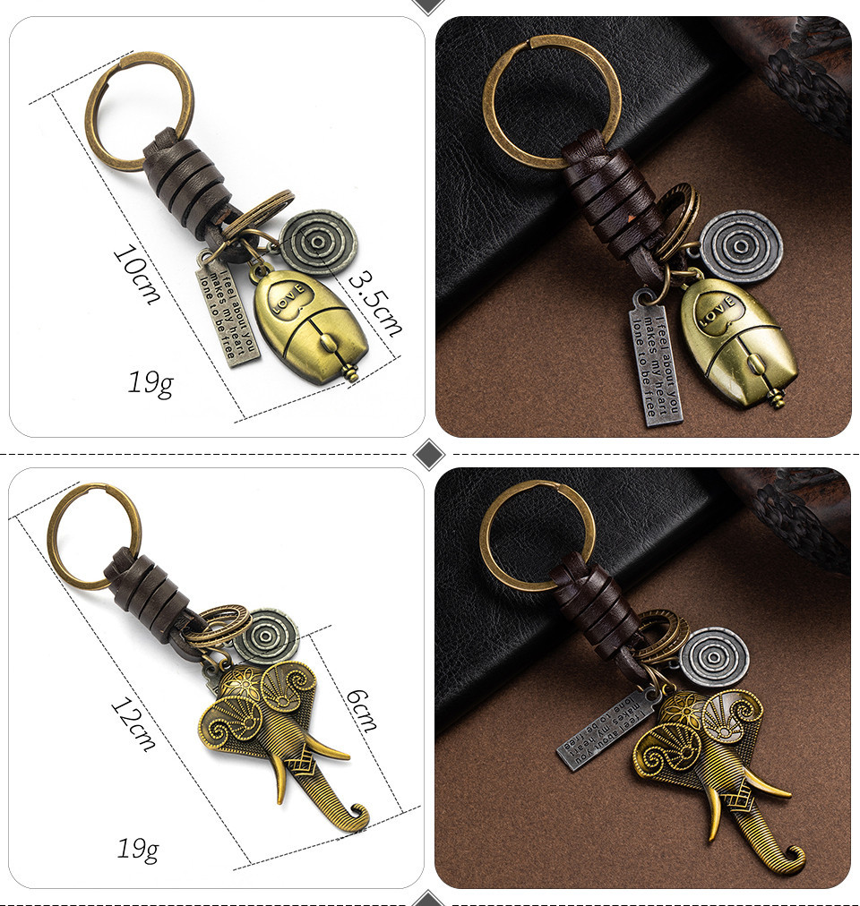 Fashion Car Key Chain Ring Lovers Couple Music Guitar Keyboard Gamepad Elephant Whistle Hat Tank Motorcycle Scooter for Key Tags Gifts (118)