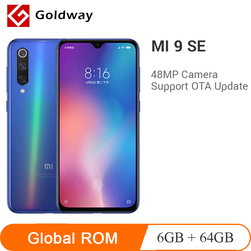Xiaomi 9 SE 6GB 64gb GSM/WCDMA/LTE Quick Charge 3.0 Octa Core In-Screen fingerprint recognition title=
