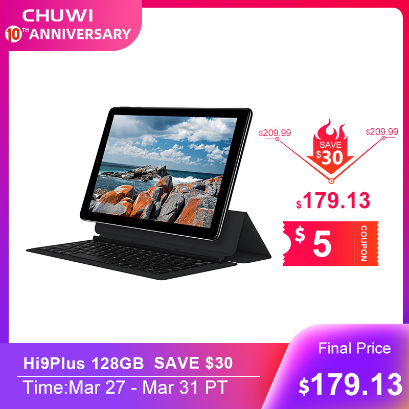 CHUWI Call-Tablets 2560x1600-Display 4g-Phone Deca-Core Hi9-Plus Android-8.0 Dual-Sim title=