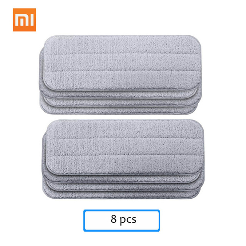 Xiaomi Mijia Deerma Replace Mop for Mi Mijia Water Spray Mop 360 Rotating Cleaning Cloth Head Wooden Carbon Fiber Cloth H20 (9)