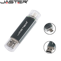 JASTER Smart phone USB Flash drive OTG USB Flash Drive Micro USB Flash Drive Smart Phone U Disk 4GB/8GB/16GB/32GB/64GB Wholesale