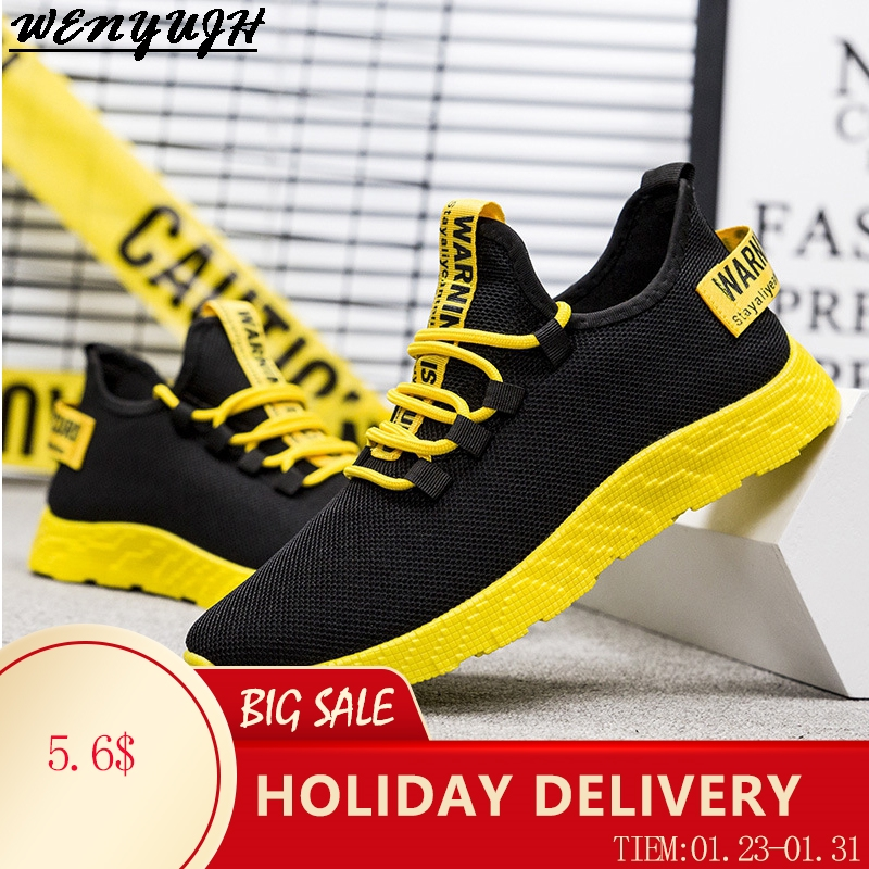 Men Sneakers Shoes Tenis Male Breathable Casual Lace-Up No-Slip Wear-Resistant Masculino title=