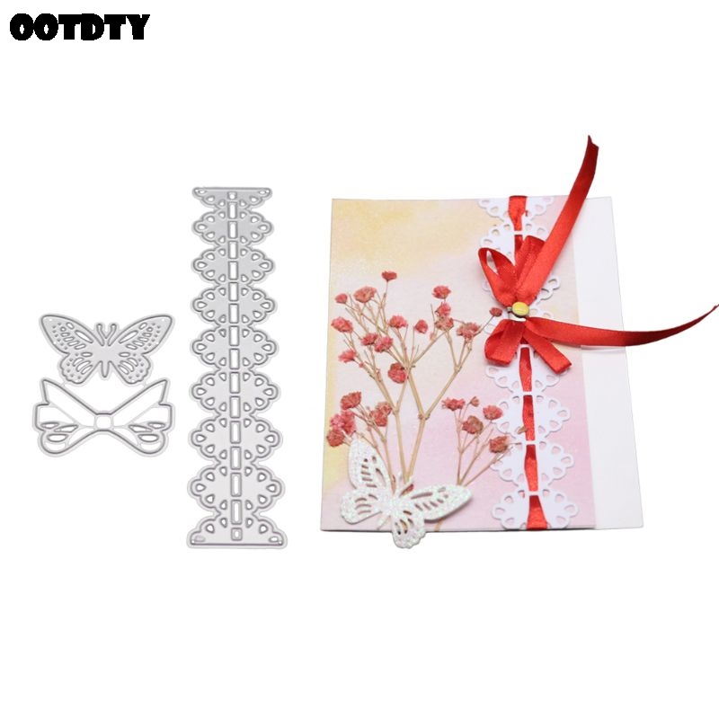 Metal Cutting Dies Stencils Scrapbook Embossing DIY Craft Album Card Gift Decor