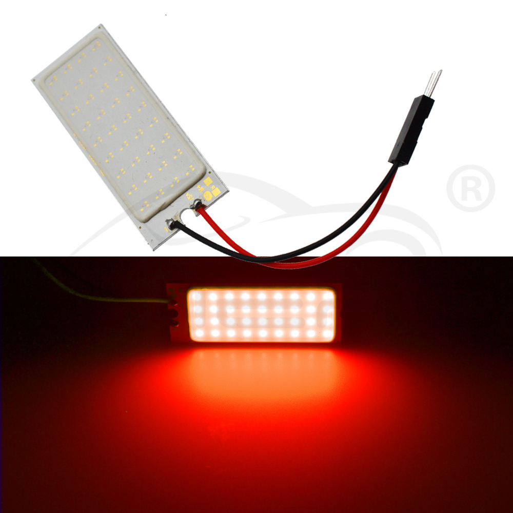 Hviero White Red T10 Cob 36Led Car Led w5w C5W C10w 194 Panel Lamps Auto Door Reading Lamp Backup Bulb Dome Festoon Light BA9S DC 12v